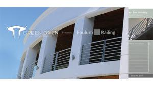 Modern Aluminum Railing By Green Oxen